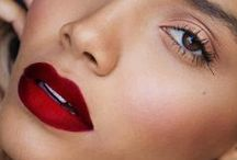 Style || Face / Red Lips & Bright Eyes tend to hypnotize.