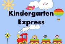 Kindergarten Express /  Welcome to the Kindergarten Express!  Feel free to pin  your very best  creations with a 3 to 1 ratio of ideas vs. priced items.  I would  love to see cool classroom ideas, quotes, videos, bulletin boards and any other free resources you come across. If you would like to hop on board and be apart of this collaborative board, please see my blog at http://www.123kteacherblog.com  and leave me your Pinterest URL information. Happy teaching!