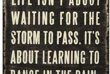 Quotes / by Amanda Deforge