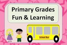 Primary Grades Fun & Learning / Welcome to Primary Grades Fun & Learning! Feel free to pin up to three of your very best primary grade creations from Teachers Pay Teachers or Teachers Notebook per day. I would also love to see cool classroom ideas, quotes, videos, bulletin boards and any other free resources you come across. (3 to 1 ratio of ideas vs. $ products) Visit my blog at http://www.123kteacherblog.com and leave me your Pinterest URL information. Happy teaching!