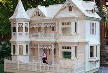 Dollhouse: Inspiration Ideas / Inspiration photos for dollhouse making / by Cindy Cloyd