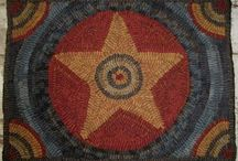 Rug hooking / by Renee Hahnel