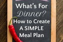 Simple Tips for Cooking and Meal Planning / Simple tricks to make meal planning, prep, and cooking easy, even if you're a beginner in the kitchen.