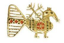 серебряные украшения / серебряные украшения в славянском этническом стиле