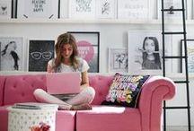 Home Office Decor Ideas / Home office, office,inspiration,home decor,desk,wall art,office decor
