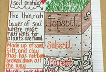 Soil / Lessons and activities for teaching and learning about soil...for elementary classrooms!