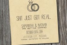 Tie the knot / Wedding