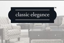 Classic Elegance / Classic Elegance brings new and old traditions together with timeless furniture that will always be in style. From rich mahogany to polished nickel, the pieces in this collection are graceful and refined, creating memories that last a lifetime.