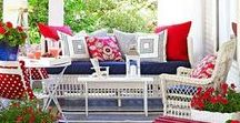 Summer | Red, White & Blue / Discover red, white & blue inspired home decor and entertaining ideas, perfect for summer parties!