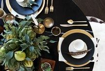 Dining & Entertaining / 1. Pay attention to your guests.  2. Interact with them.  3. Feed them fine food and wine. - Martha Stewart