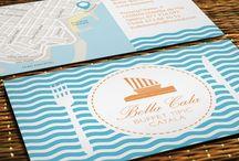 Diseño de imagen corporativa / Tarejtas de visita, carpetas, sobres, tarjetas de fidelización