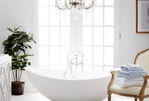 Beautiful Bathrooms / A collection of the chic and the stylish - relaxation meets beautiful design.