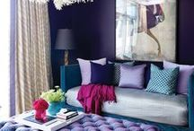 Pantone Color of the Year 2018 - Ultra Violet / Bold and dramatic, the Pantone Color of the Year for 2018 packs a powerful pop of purple. There's nothing shy or subdued about Ultra Violet, so use it to make a daring impact in your space. Browse PLD's favorite purple picks here: http://bit.ly/2r9eeW7