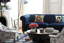 stylish living::livingroom / by Anastasia Dolotov