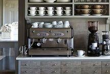 stylish living::kitchen / by Anastasia Dolotov