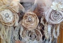 Fab Flowers / ...FABric flowers that are also FABulous!!