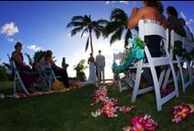 Local Wedding Inspirations / Embracing the iconic scenery, ohana culture and unique talent of Hawaii