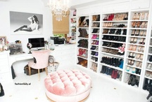 Dream Closet...Girls Favorite Place In Her Home  / by TINA TOBAR