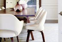 stylish living::diningroom / by Anastasia Dolotov