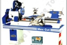 Lathe Machine / A lathe machine is used when a metal sheet is to be given a specific shape. It removes unwanted part from the metals so that a new shape can be given. In lathe machine, the metal is rotated against the tool which trims down the material into a particular shape. On an initial stage, when a lathe machine was invented, it was used manually but now there have been much technological advancement brought to a lathe machine which has resulted to availability of different types of lathe machines.