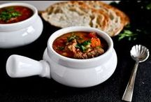 my lil cookbook::soups / by Anastasia Dolotov