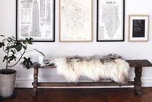 stylish living::foyer / by Anastasia Dolotov