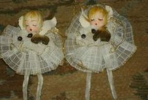 Vintage Christmas Cute / Vintage Christmas crafts...