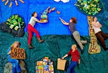 Fight Hunger! / Work with Second Harvest Heartland to fight hunger in the community.