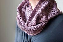 Tejer: cuellos y bufandas
