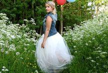 Tulle skirt / Custom made tulle skirts