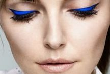 My Blue Makeup Looks / Some of my tutorials using the colour blue.  / by Lisa Eldridge