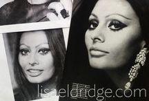 Sophia Loren Inspired Makeup Look - The Inspiration Behind The Look / The inspiration behind my Sophia Loren Inspired Makeup Look tutorial. X / by Lisa Eldridge