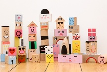 Craft ideas for Kids / by Marieke *Sew Natural*
