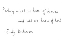 paper quotes (for those times you need inspiration... or to cry... or wish you had pretty handwriting)
