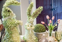 Easter Table Settings & Buffet Ideas / Great spring table ideas