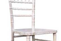 White Washed Looks / Our NEW White Washed Ballroom Chair…The look of this chair works perfectly for both an elegant event and something more rustic. Works very well with both our Natural Ballroom Chair & our Fruitwood Ballroom Chair.