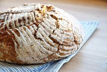 Bread / Recipe for bread and buns  ❥ opskrifter på brød og boller