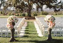Outdoor Wedding Inspiration / ideas for outdoor weddings & celebrations