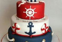 Nautical /Under the Sea Birthday cakes:)