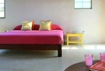 Colourful Bedrooms / ideas and inspiration for those who love a bit of colour in their lives