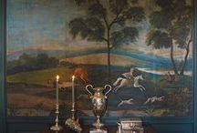 Murals & Painted Wallpaper / by Lizzie Verney