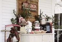 How to Set Up a Hot Cocoa Bar / Hot Cocoa Bars are the perfect addition to any party, whether it's winter or not! Christmas, Birthday, Wedding Reception, Baby Shower, or just for fun. / by The Baking Beauties