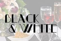Black & White Collection / Check out our new Black & White collection - a bold way to add a touch of drama to your event. See all of our new summer collections here: www.petersoncollections.com