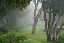 Malebné miesta / krajina, záhrady, zákutia