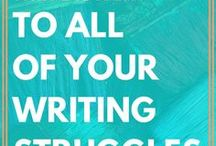 Write them down! -writing project-