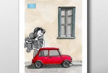 Urban Art Illustations by Stamatis