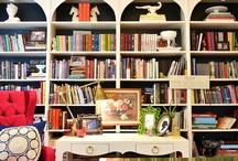 Bookshelves / by Angie Gordon