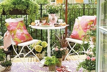 Outdoor Spaces, Entries and Odd Nooks / by Angie Gordon
