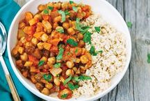 Vegetarian Dishes / Yes, it's possible to eat clean in 20 minutes or less. Follow these Clean Eating recipes to whip up a healthy meal in a flash. / by Clean Eating