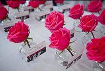 Black White & Pink Damask Wedding / by Winsor Event Studio